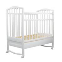 Детская кроватка Агат Золушка-2 качалка с ящиком