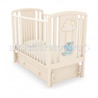 Детская кроватка Angela Bella Жаклин Мишка на качелях маятник универсальный