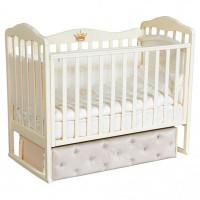 Детская кроватка Антел Алита 7 (универсальный маятник)