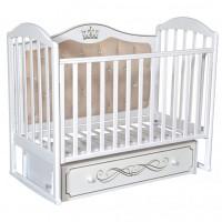 Детская кроватка Антел Anita 999 с мягкой спинкой универсальный маятник