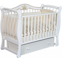 Детская кроватка Антел Luiza 333 маятник универсальный