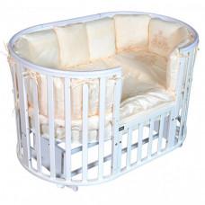 Детская кроватка Bellini Laura Plus 6 в 1 универсальный маятник