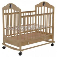 Детская кроватка Briciola 7 колесо-качалка автостенка с ящиком