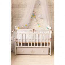 Детская кроватка ByTwinz Версаль (поперечный маятник)
