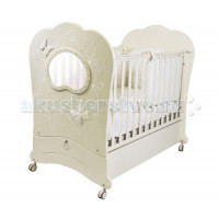 Детская кроватка Feretti FMS Oblo Charme Brillante продольный маятник