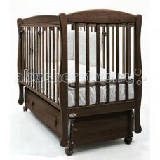 Детская кроватка Fiorellino Crown маятник продольный