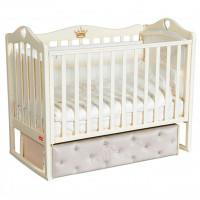 Детская кроватка Francesca Erika Premium (универсальный маятник)