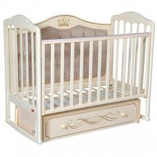 Детская кроватка Francesca Stephania Elegance Premium автостенка универсальный маятник