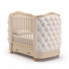 Детская кроватка Гандылян Тиффани Стразы колесо