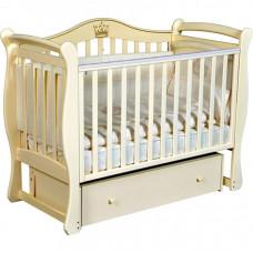 Детская кроватка Кедр Bella 1 универсальный маятник