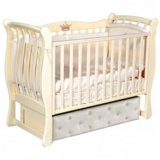 Детская кроватка Кедр Viola 4 (универсальный маятник)