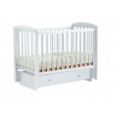 Детская кроватка Кубаньлесстрой АБ 16 Ромашка маятник универсальный