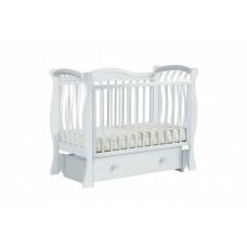 Детская кроватка Кубаньлесстрой БИ 08 Маргаритка маятник универсальный