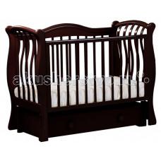 Детская кроватка Кубаньлесстрой БИ 08.3 Маргаритка маятник продольный