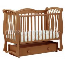 Детская кроватка Кубаньлесстрой БИ 08.4 Маргаритка маятник универсальный