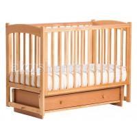 Детская кроватка Кубаньлесстрой БИ 39.2 Кубаночка-3 маятник поперечный
