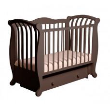 Детская кроватка Кубаньлесстрой БИ 555.2 Магнолия поперечный маятник