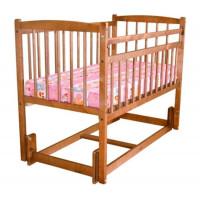 Детская кроватка Массив Беби 3 Разборная маятник продольный