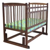 Детская кроватка Массив Беби 4 Разборная поперечный маятник