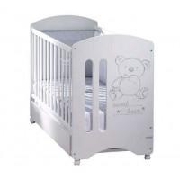 Детская кроватка Micuna Sweet Bear 120х60 с матрацем CH-620