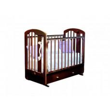 Детская кроватка Можга (Красная Звезда) Агата С-719 поперечный маятник