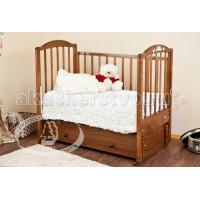 Детская кроватка Можга (Красная Звезда) Регина С-580 №23 Бабочки маятник продольный