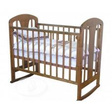 Детская кроватка Можга (Красная Звезда) С 703 ЗН Вилона накладка Жираф (качалка)
