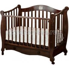 Детская кроватка Можга (Красная Звезда) Валерия С-749 накладка №22 Мишка на облаке