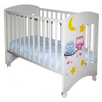Детская кроватка Можгинский лесокомбинат Laluca Софи Совята без ящика