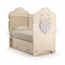 Детская кроватка Nuovita Fortuna swing маятник поперечный
