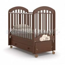 Детская кроватка Nuovita Grano swing маятник продольный