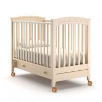 Детская кроватка Nuovita Perla solo маятник продольный