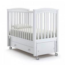 Детская кроватка Nuovita Perla solo swing продольный маятник
