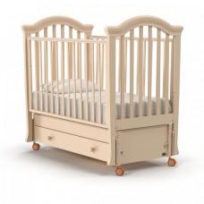 Детская кроватка Nuovita Perla swing (продольный маятник)