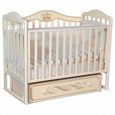 Детская кроватка Oliver Francesca Elegance (универсальный маятник)