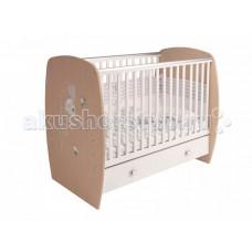 Детская кроватка Polini French 710 Amis (ящик)