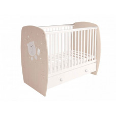 Детская кроватка Polini French 710 Teddy (ящик)