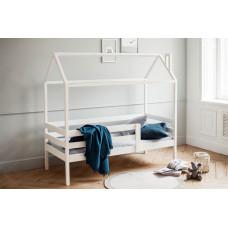Детская кроватка RooRoom Домик с 1 ограничителем 140х70