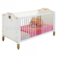 Детская кроватка Spiegelburg Prinzessin 70х140 см