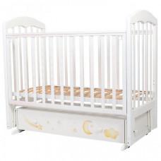 Детская кроватка Топотушки Олененок маятник поперечный