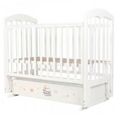 Детская кроватка Топотушки Сильвия-7 Пижамная вечеринка 2020