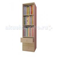 Детский шкаф Polini Стеллаж с ящиками Simple