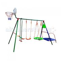 DFC Детский комплекс с батутом и баскетбольным кольцом Mtb-01