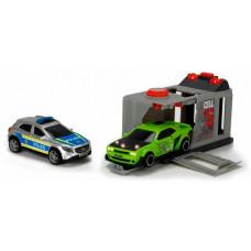 Dickie Набор Побег из тюрьмы (2 машинки: Dodge и Mercedes)