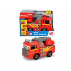 Dickie Пожарная машина Happy моторизированная свет, звук 25 см