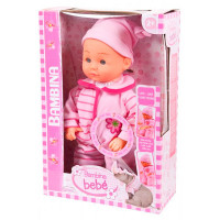 Dimian Кукла-пупс Bambina Bebe 33 см