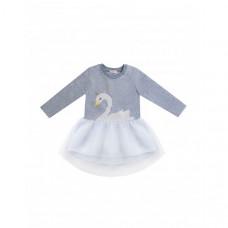 Diva Kids Платье для девочки Лебеди DK-175
