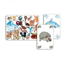 Djeco Детская настольная карточная игра Занимач