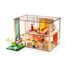 Djeco Дом-кубик для кукол