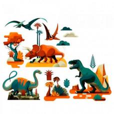 Djeco Наклейки на окна Динозавры